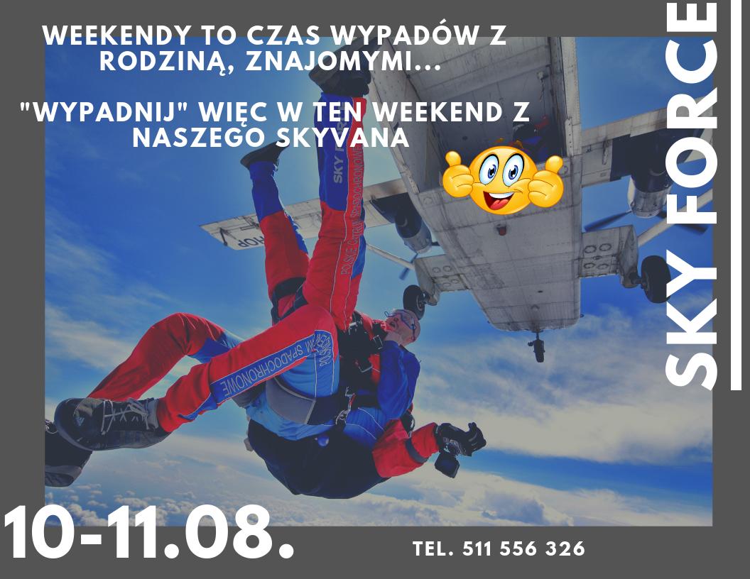 Kolejny skoczny weekend 09-11.08.2019