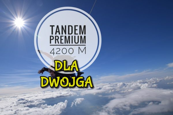skok premium tandem dla dwojga 600x400 - SKOK TANDEM 4200 PREMIUM DLA DWOJGA
