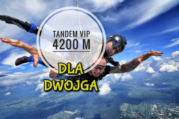 skok tandem vip dla dwojga 600x400 - SKOK TANDEM 4200 VIP DLA DWOJGA
