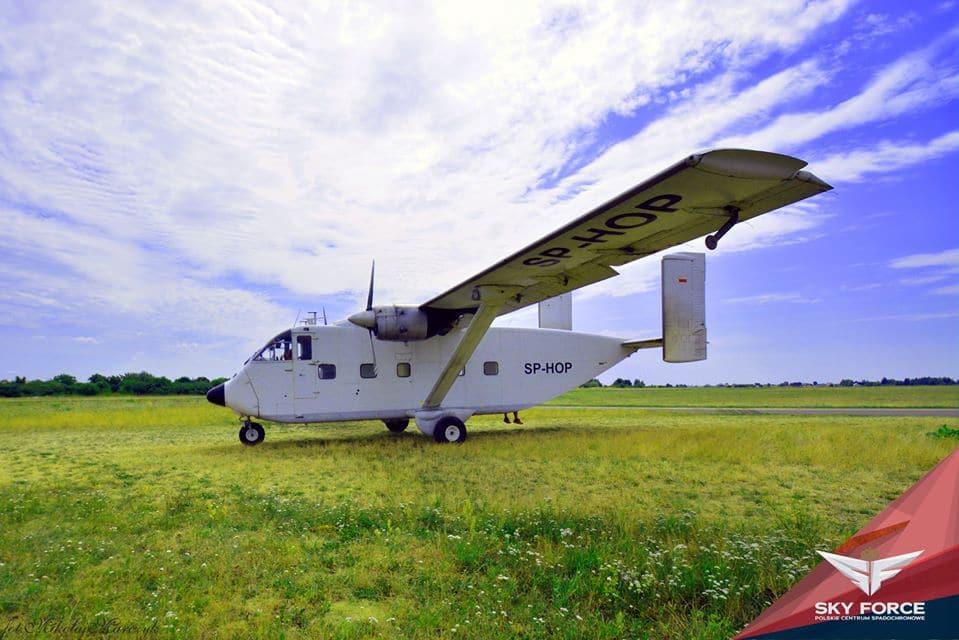 samolot desantowy skyvan - Blog